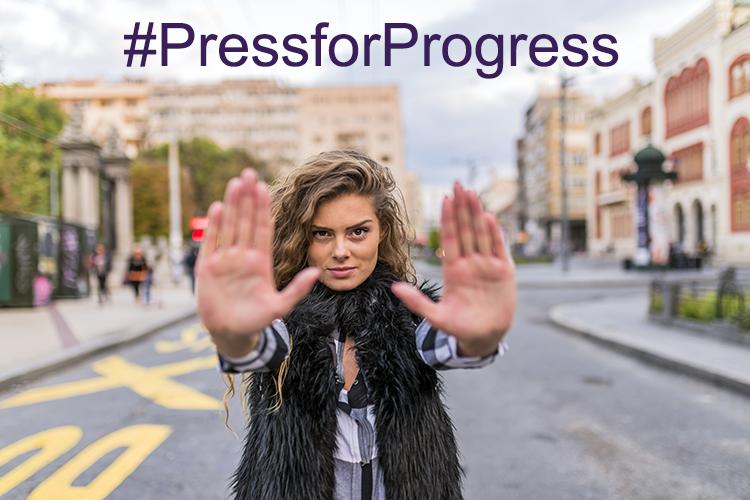 PressforProgress-IWD2018