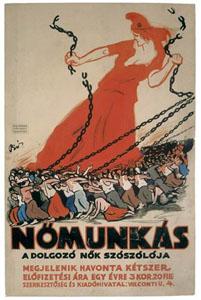 nőmunkáscímlap